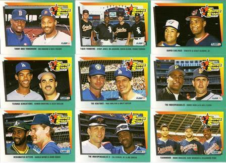 1992 Fleer 'Superstar Special' (Set of 9)