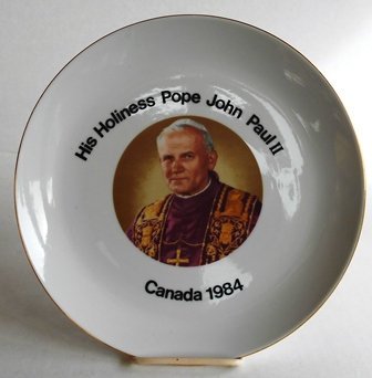 Pope John Paul II 1984 Visit to Canada