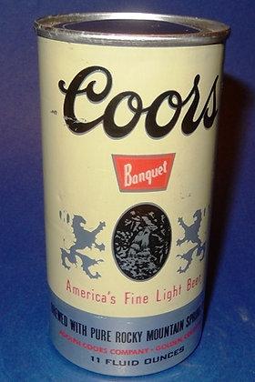 Vintage Coors Beer Can