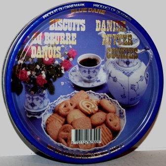 Blue Dane Danish Butter Cookies Tin