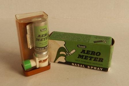 Vintage Rexall Aero Meter Nasal Spray