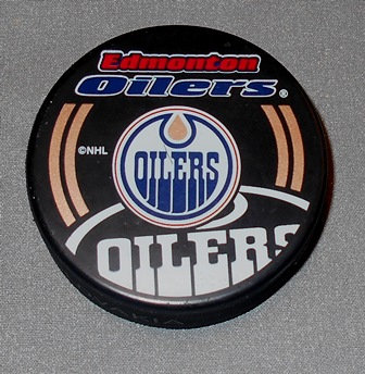 Edmonton Oilers Official NHL Puck