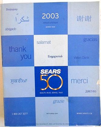 2003 Sears 50 Year Anniversary Annual Catalog