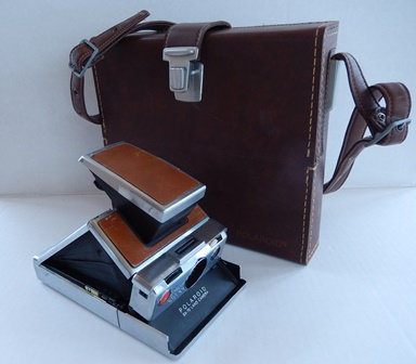 Polaroid SX-70 Camera with Case