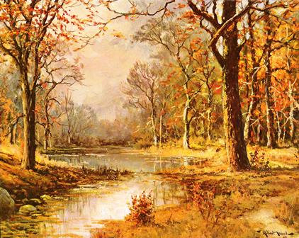 October Morn by Robert Wood