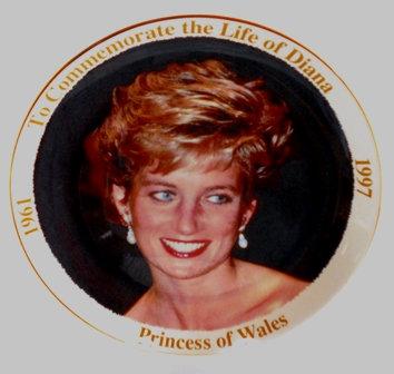 Commemorative PlateThe Life of Diana 1961-1997