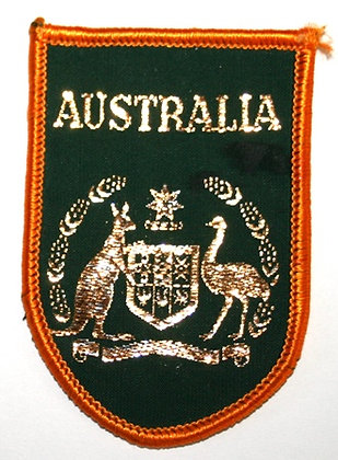 Vintage Australia Code of Arms Patch