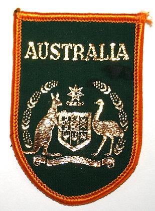 Australia Kangaro + Emu Coat of Arms Patch
