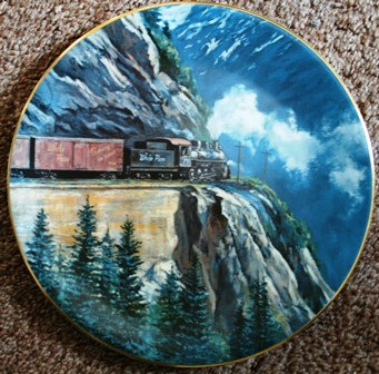 Collector Plate Christian Bell  White Pass #370