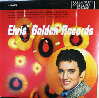 Elvis Golden Records Collectors Gold Vinyl Edition