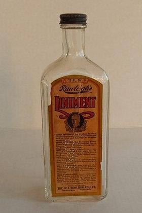 Vintage Bottle Rawleigh's Liniment