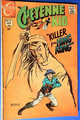 Cheyenne Kid Comic, 1970