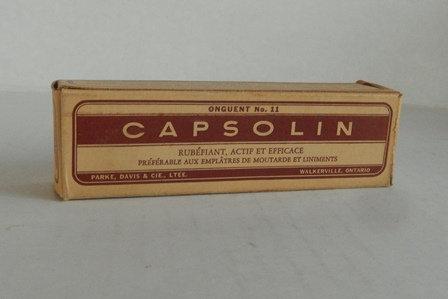 Capsolin Mustard Ointment Box