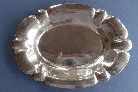 Silver Victorian Plate