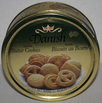 Vintage Danish Butter Cookie 500 gm Tin