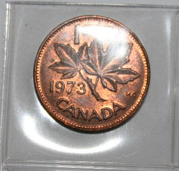 Canada Penny 1973