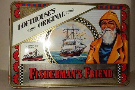 Fisherman's Friend Tin Box
