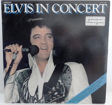 Elvis in Concert - Double LP (1977)
