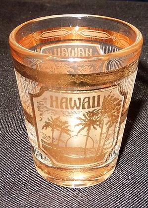 Vintage Old *HAWAII* Culver 22K Gold Overlay S