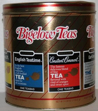 Vintage Bigelow Assorted Tea Tin