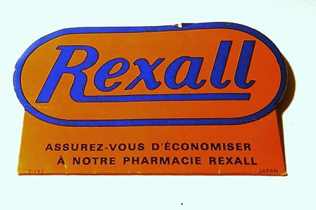 VTG Original Rexall Advertising Hand Out Promotion