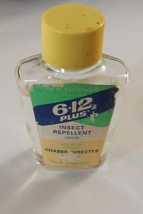 Vintage 6-12 Insect Repellent,