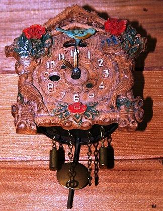 VTG Blue Bird Pendulum Pendulum Clock
