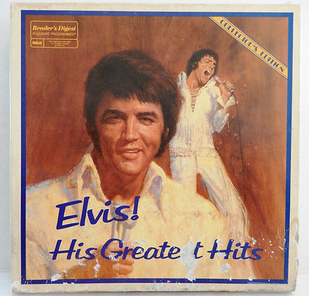 Elvis! His Greatest Hits 7 LP Set, Limited Edition