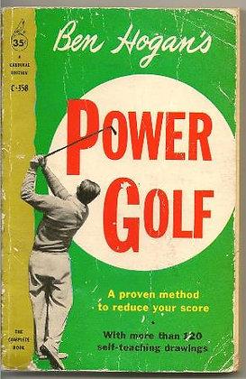Vintage Ben Hogan's Power Golf Book, 1960