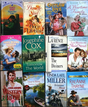 Paperback Books 12 Assorted