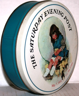 SATURDAY EVENING POST COOKIE / CANDY TIN