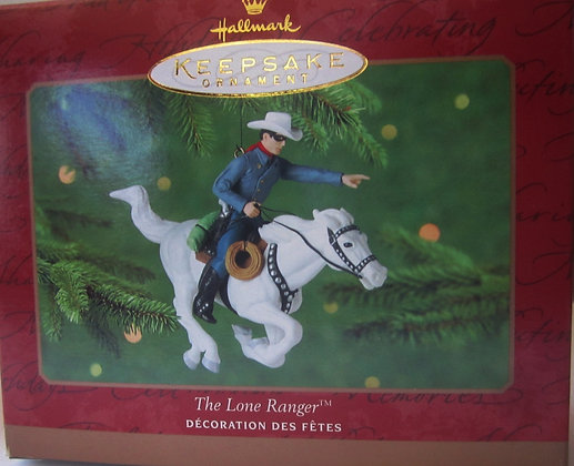 Hallmark Keepsake The Lone Ranger Ornament