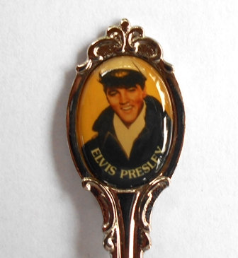 VINTAGE  COLLECTOR SPOON - ELVIS Sailor Suit