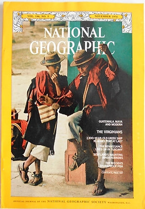 National Geographic Magazine 1974 Complete Set of