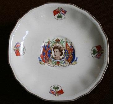 Coronation of Queen Elizabeth II June 2nd Saucer