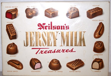 Neilson Jersey Milk Treasures Chocolate Box