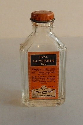 VINTAGE 1950's NYAL COMPANY Glycerine