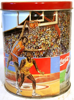 Coca-Cola-Cola Round Sports Tin