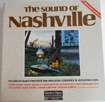 THE SOUND OF NASHVILLE-Collector's Edition LPs