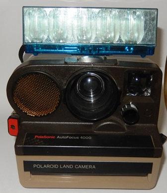 Polaroid Polasonic 4000 Camera