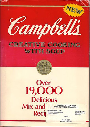 Campbell's Creative Cooking with Soup Hardcover