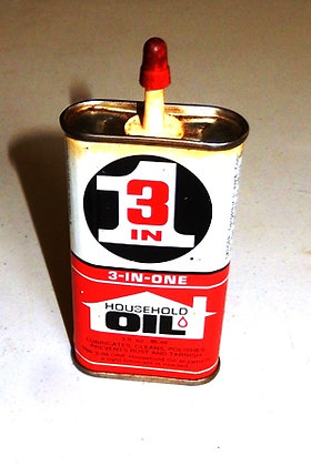 """Vintage """"3 in 1"""" Oil Can"""
