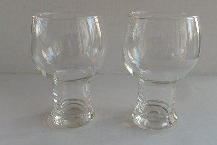 Fish Bowl Beer Glasses - Set of 2