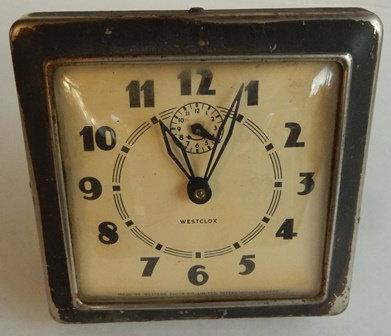 VTG Westclox Alarm Clock