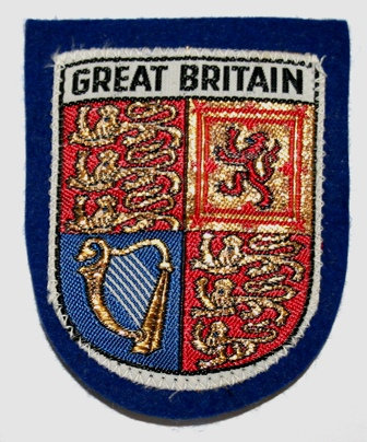 Old GREAT BRITAIN Patch/Badge c1960s