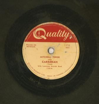 Quality Label 78 Record WEEP AWAY