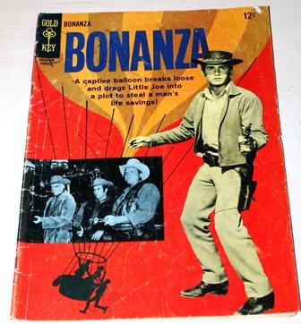 1965 Bonanza #15  Western Gold Key Comic