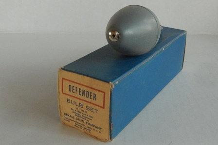 Vintage Rexall  Defender Bulb Set