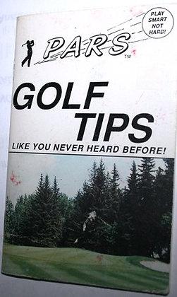 PARS Golf Tips Bernie Toma