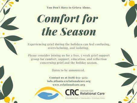 """Comfort for the Season"" at CRC-Woodstock"